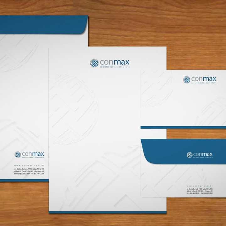 Conmax stationery