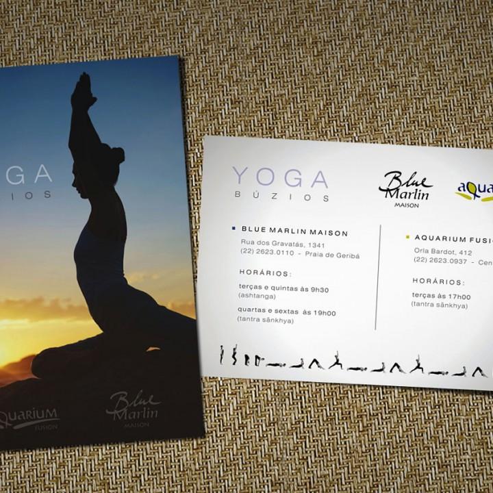 Yoga Buzios flyer