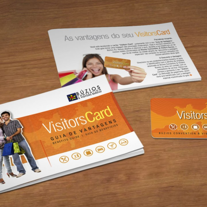 Visitors Card