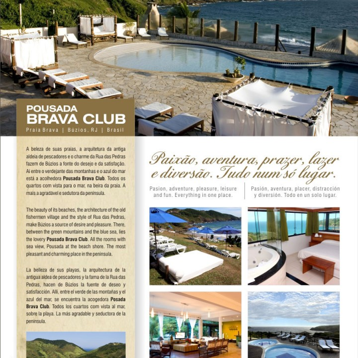 Brava Club magazine ad