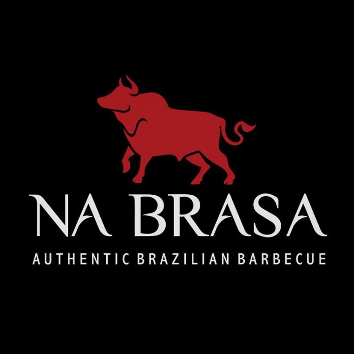 Na Brasa restaurant logo redesign