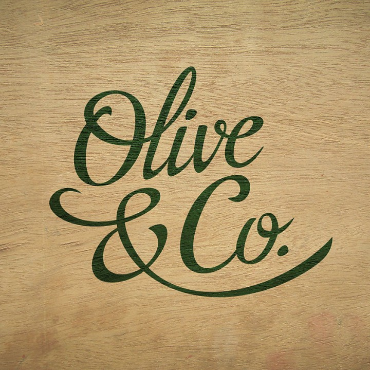Olive & Co. logo design