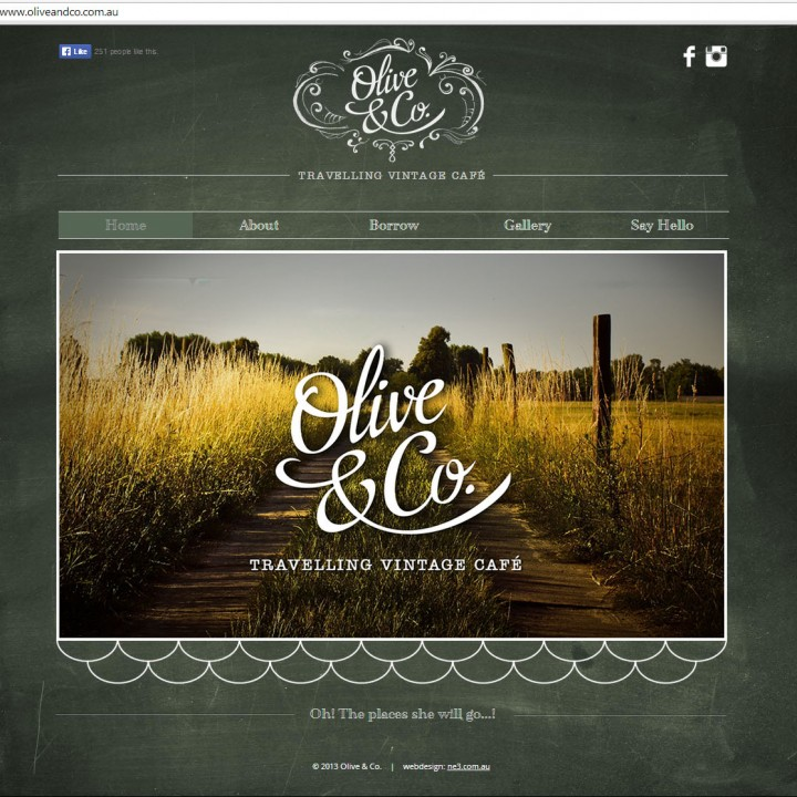 Olive & Co. website