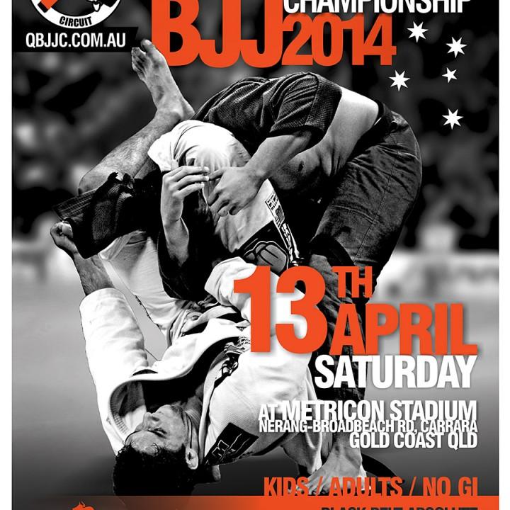 QBJJC South Pacific Championship 2014 poster