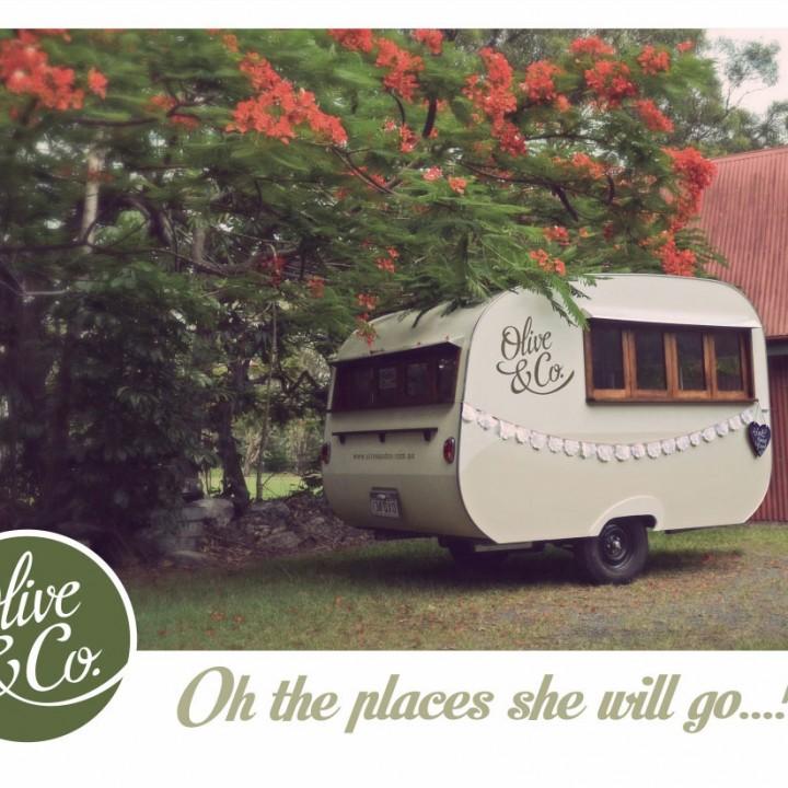 Olive & Co. postcards