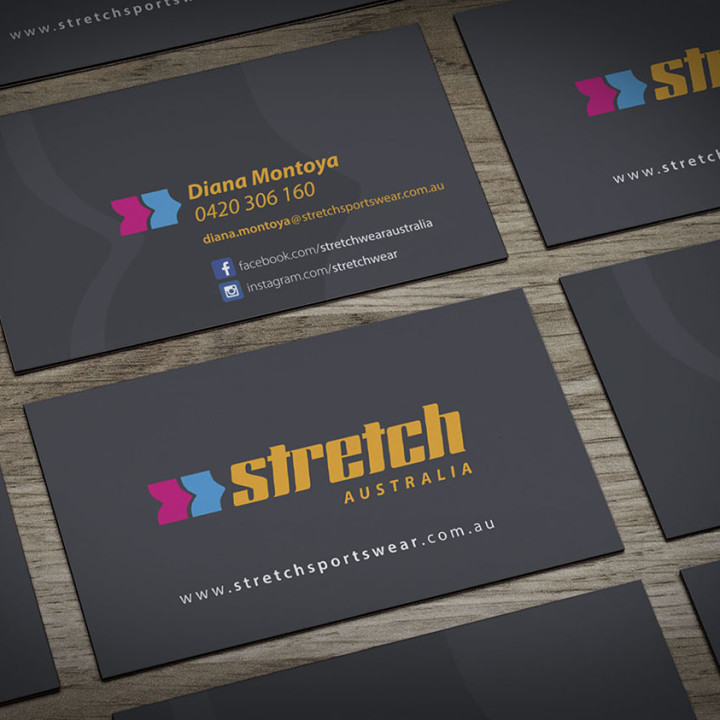 Stretch Australia business cards