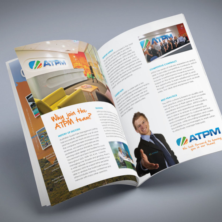 ATPM staff corporate brochure