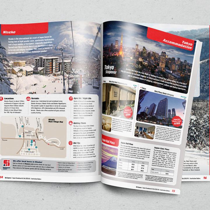 Ski Express Japan brochure 2015