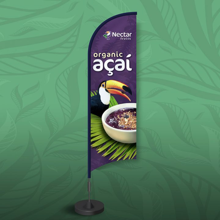 Nectar Fruits Acai flag