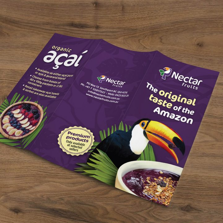 Nectar Fruits products flyer
